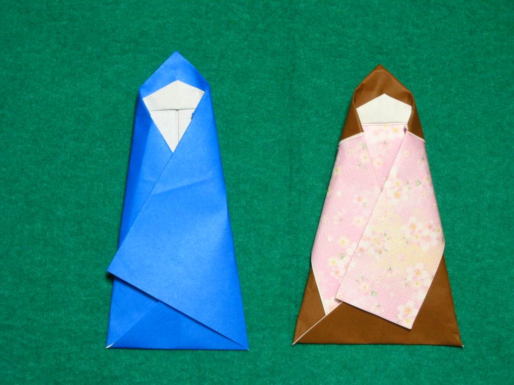 彦星 簡単 と 織姫 折り紙